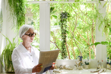 Open House: urban gardening and plant-filled interiors at ceramicist Kate Griffin's north London home