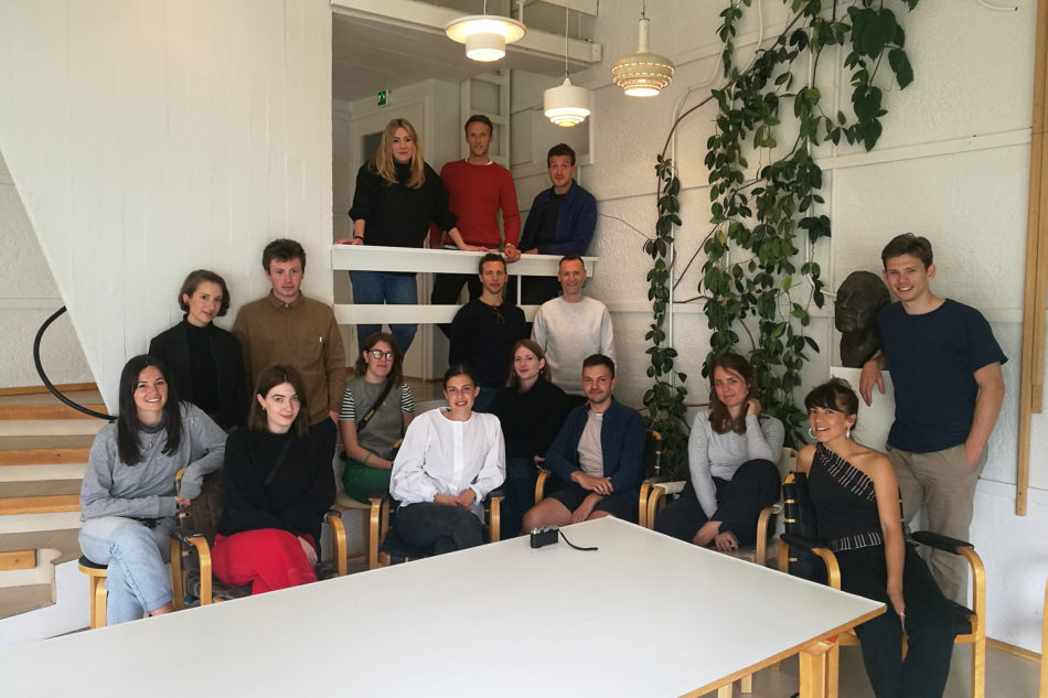 the modern house team in aalto's studio