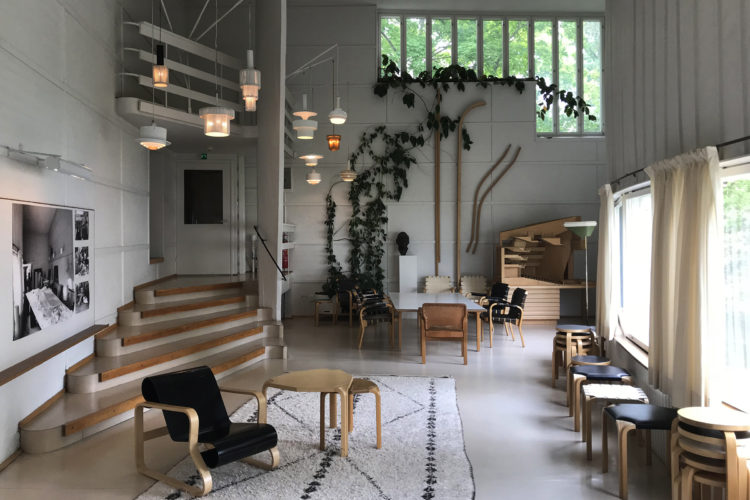 Alvar Aalto house and studio