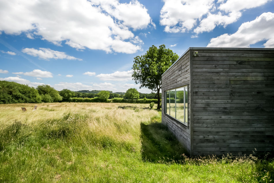 self-designed country retreat Langlands and Bell