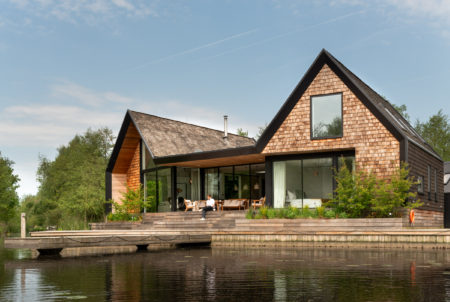 My Modern House: architect Patrick Michell at Backwater, his waterside holiday home in Norfolk