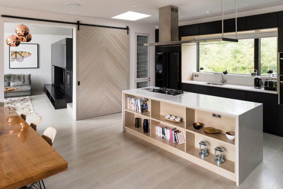 the large kitchen/diner