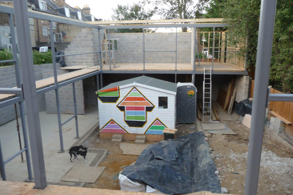 building a family home from scratch