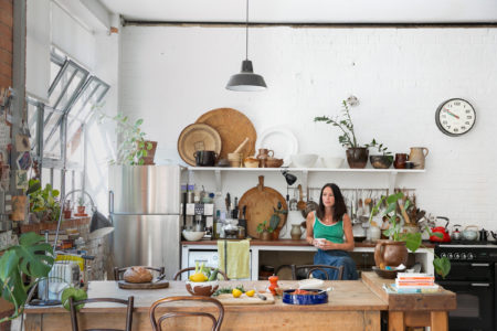 My Modern House: restaurateur Clare Lattin on finding a slower pace of life in the city at her converted factory apartment in Hackney