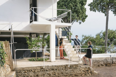 Field Work: three members of our team spend a day working at Eileen Gray's Villa E-1027 in the South of France