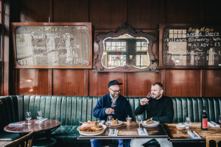 The Modern Menu: Jon Rotheram and Tom Harris cook a festive feast at The Marksman in Hackney