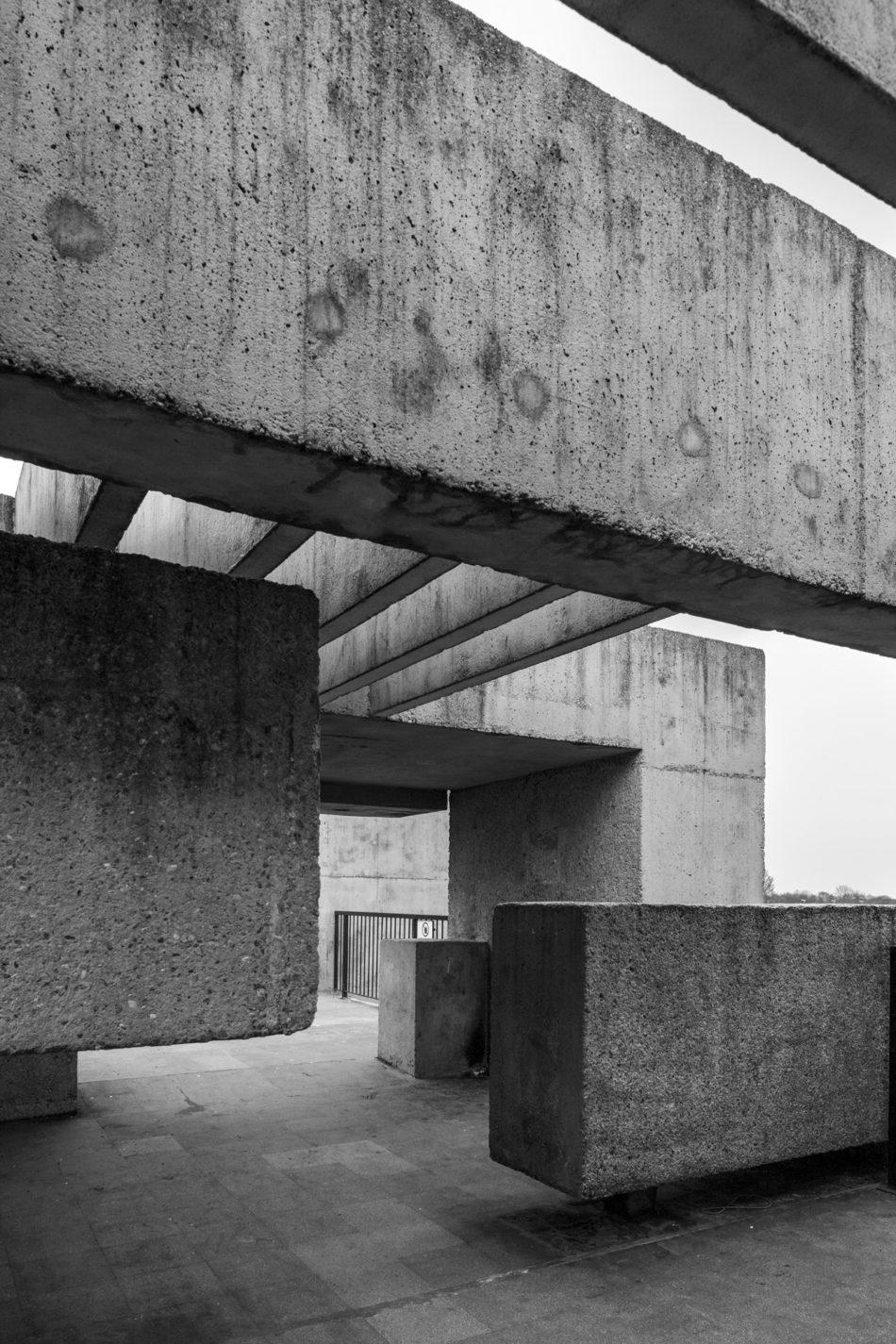 Simon Phipps Concrete Poetry Post-War Modernist New Brutalism