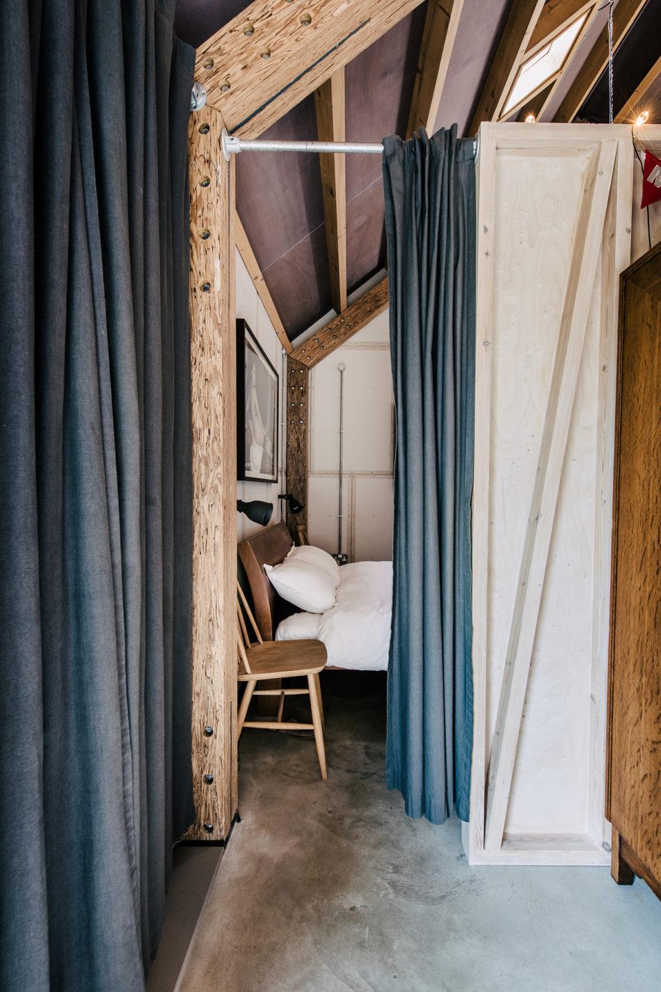 contemporary barn niall maxwell rural wales