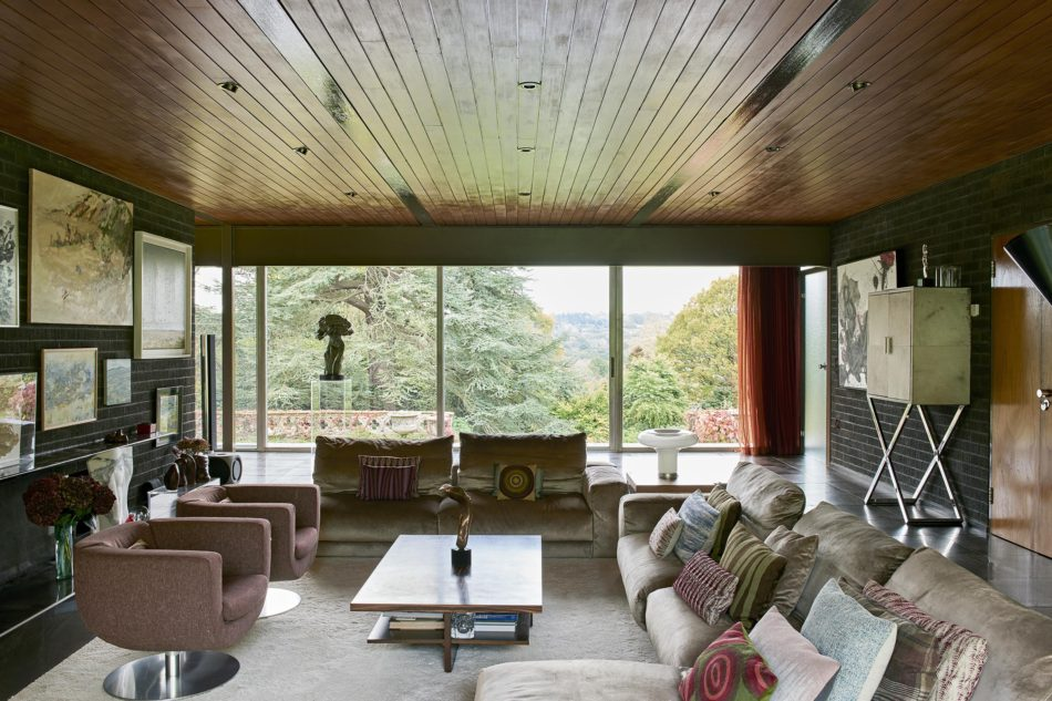 1970s modernist architecture capel manor house