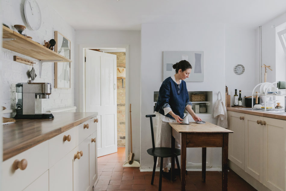 Living With Colour The Modern House And Farrow Ball Meet Artist Alessandra Taccia At Her Home In Cambridge Journal The Modern House