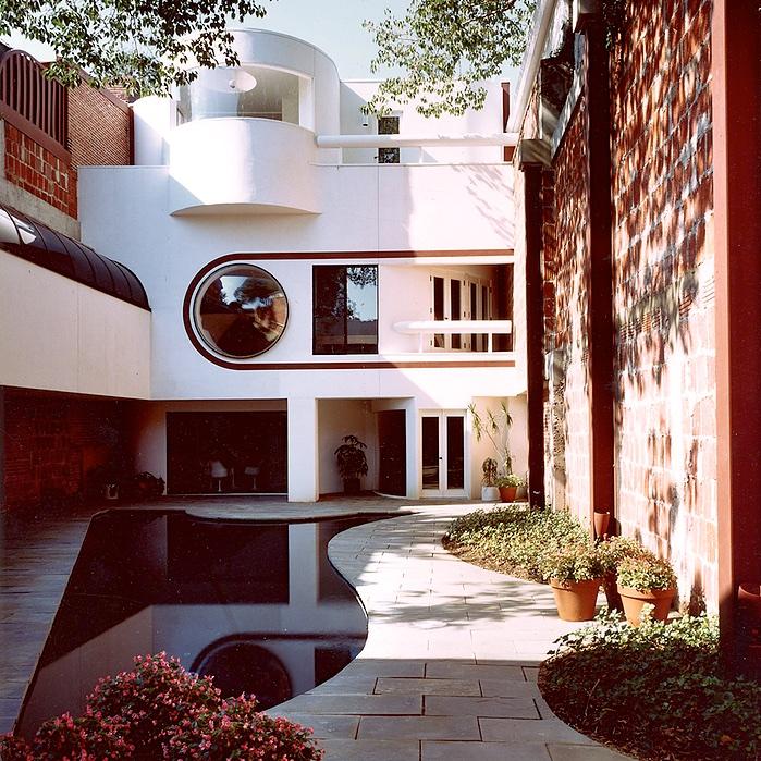 Bernstein House, Arthur Cotton Moore