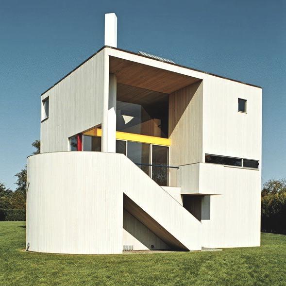Gwathmey Residence and Studio, Charles Gwathmey