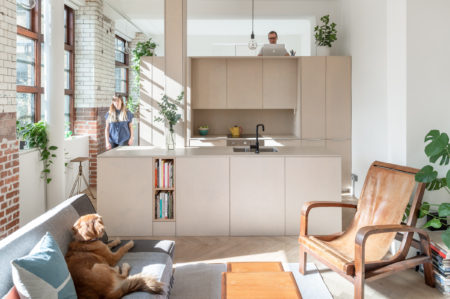 Open House: Suprblk architects Michael Putman and Sara L'Espérance on flexible architecture and timeless design at their apartment in Bethnal Green