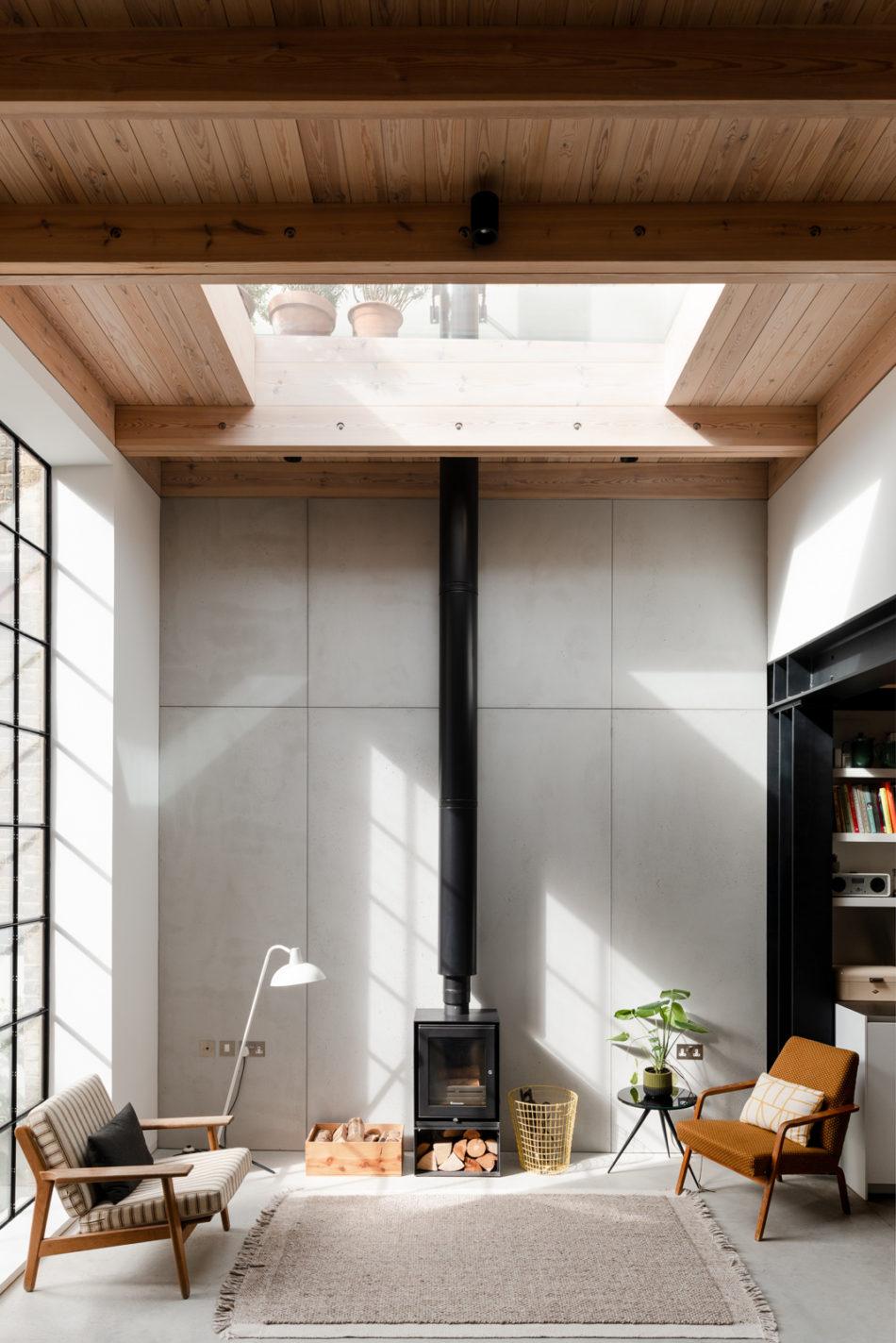 What makes a modern house
