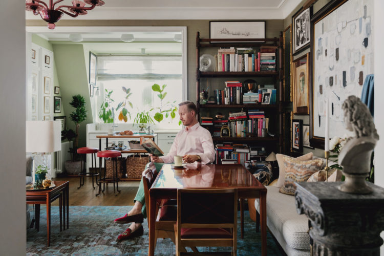 Designer Martin Brudnizki On Colour And Style At His West London Flat