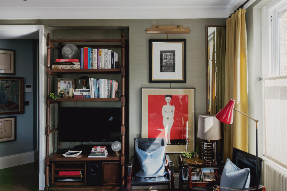 Designer Martin Brudnizki On Colour And Style At His West London Flat