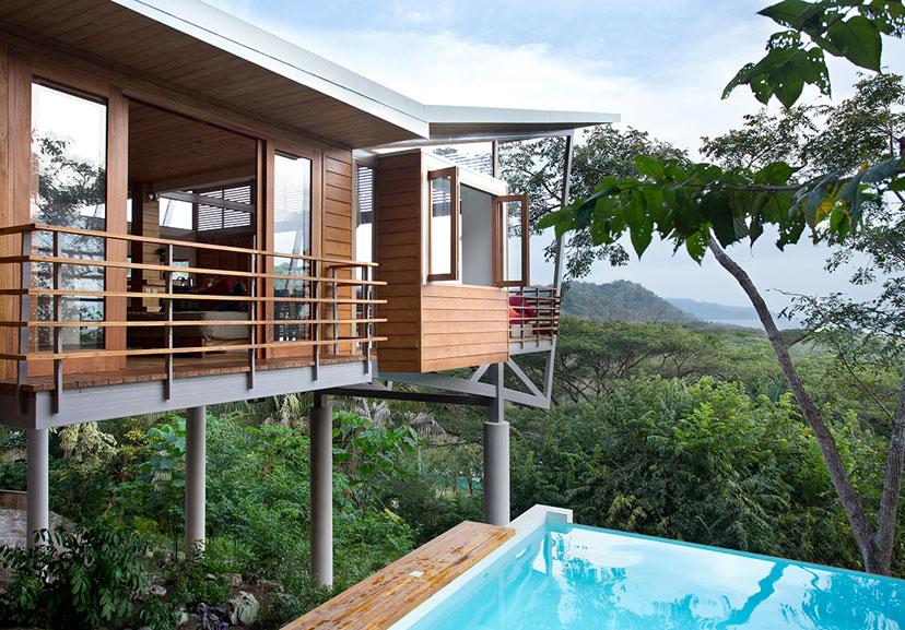 The Floating House Playa Hermosa Costa Rica Sleeps 7